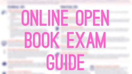 Remote Resources Week: Online Open-book Exam Guide