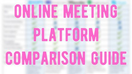Remote Resource #3: Video-conference Platform Comparison Guide