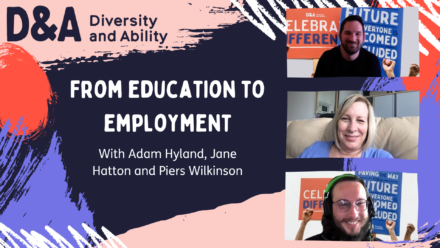 How can I get from education to employment as a disabled graduate?