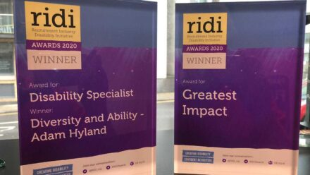 D&A celebrates two wins at the RIDI Awards!