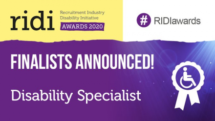 RIDI Awards: Disability Specialist Finalist