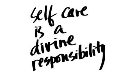 Let's Join the Revolution- Practise Self Care!