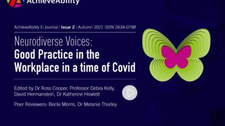 Neurodiverse choices and voices in the workplace