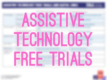 Assistive technology free trials image