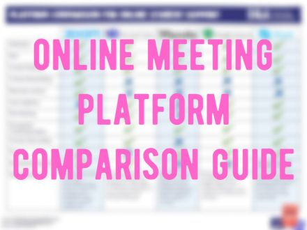 Online meeting platform comparison guide image