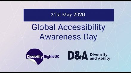 Global Accessibility Awareness Day 2020